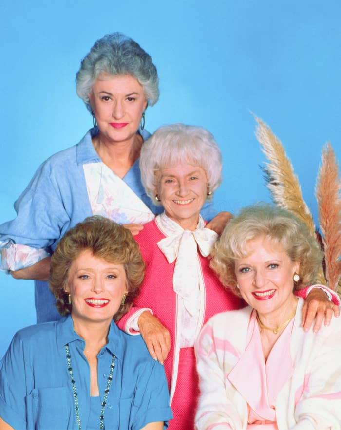 positive news The original cast of the Golden Girls