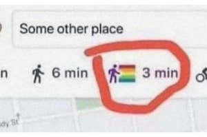 Gays walk faster than the normal pace