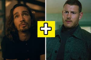 Images of Klaus and Luther from Umbrella Academy