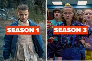 Eleven from season one and Eleven from season three.