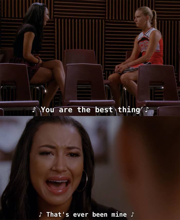 """Santana sings """"Mine"""" by Taylor Swift to Brittany and realizes they're not working out anymore"""