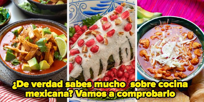 Este quiz comprobará si realmente eres experto o experta en gastronomía mexicana