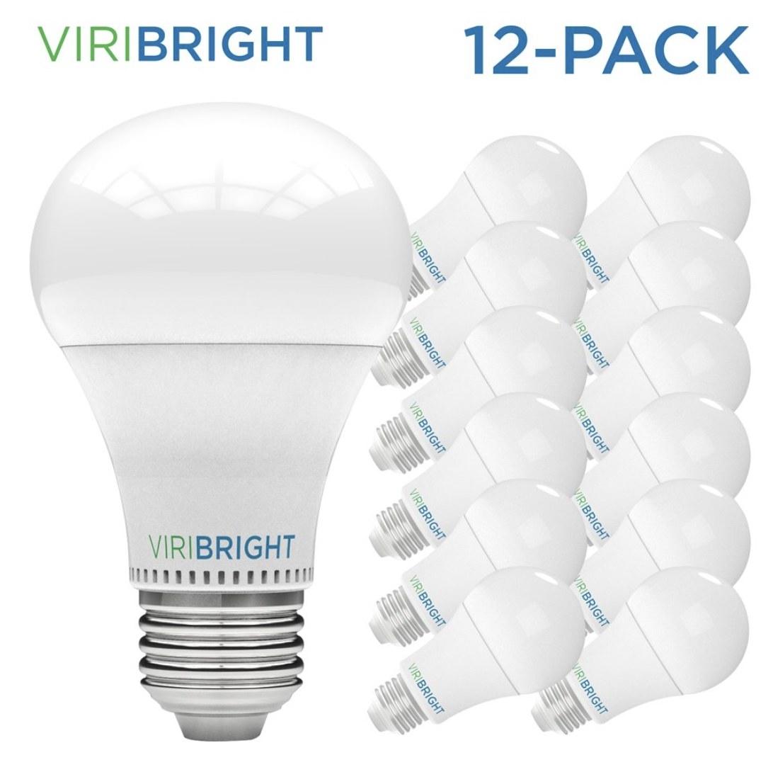 Twelve LED lightbulbs