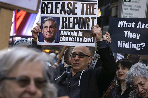 A Judge Has Ordered The Justice Department To Release More Portions Of The Mueller Report Before Election Day