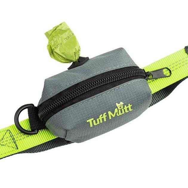 The Tuff Mutt Leash Attachment Poop Bag Holder