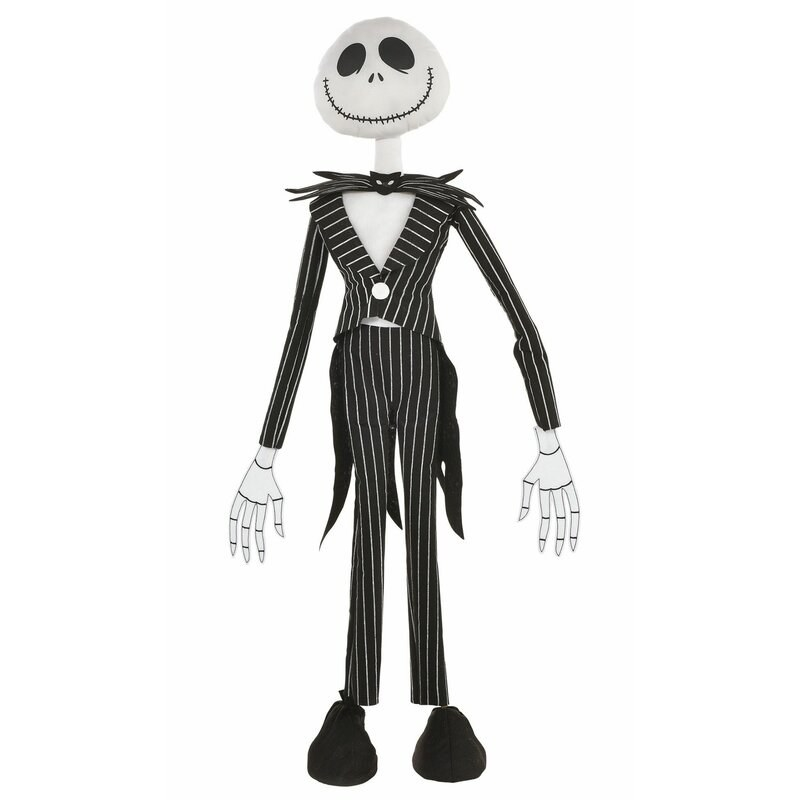 The Jack Skellington prop