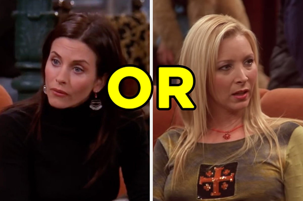 Are You More Phoebe Or Monica Based On Photos Quiz