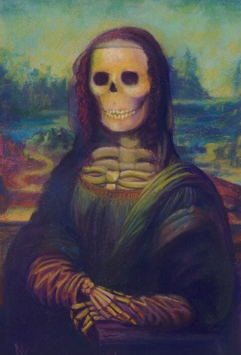 The Bona Lisa painting