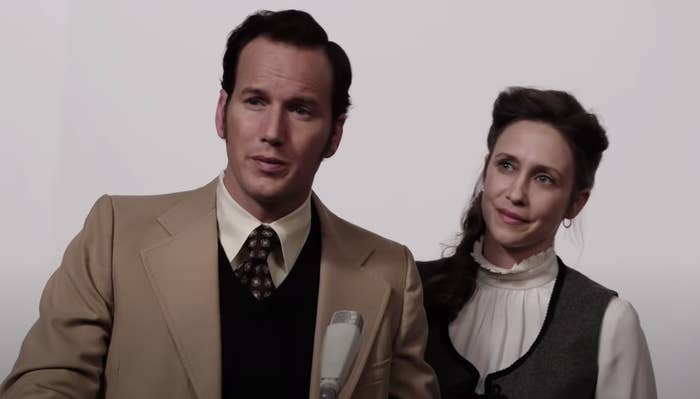 """Ed and Lorraine Warren in """"The Conjuring"""""""