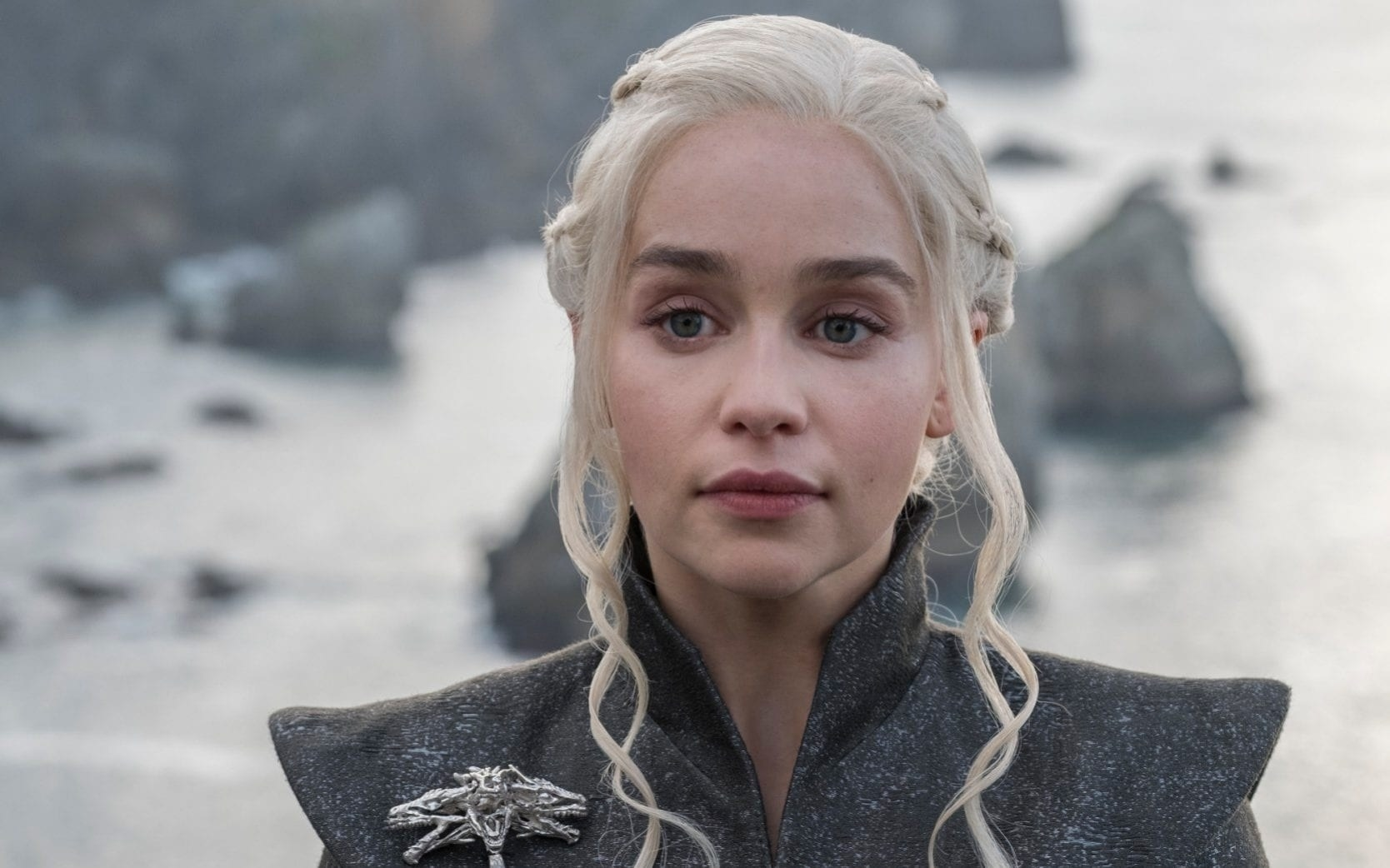 """Dany from """"GOT"""" looking into the distance"""