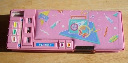 A 90s pencil box