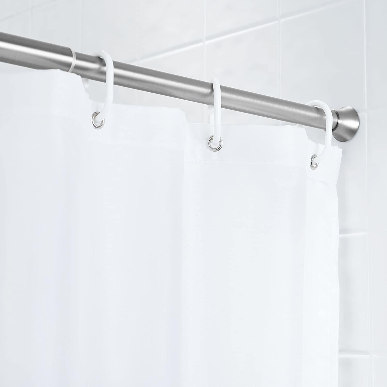 A shower rod curtain