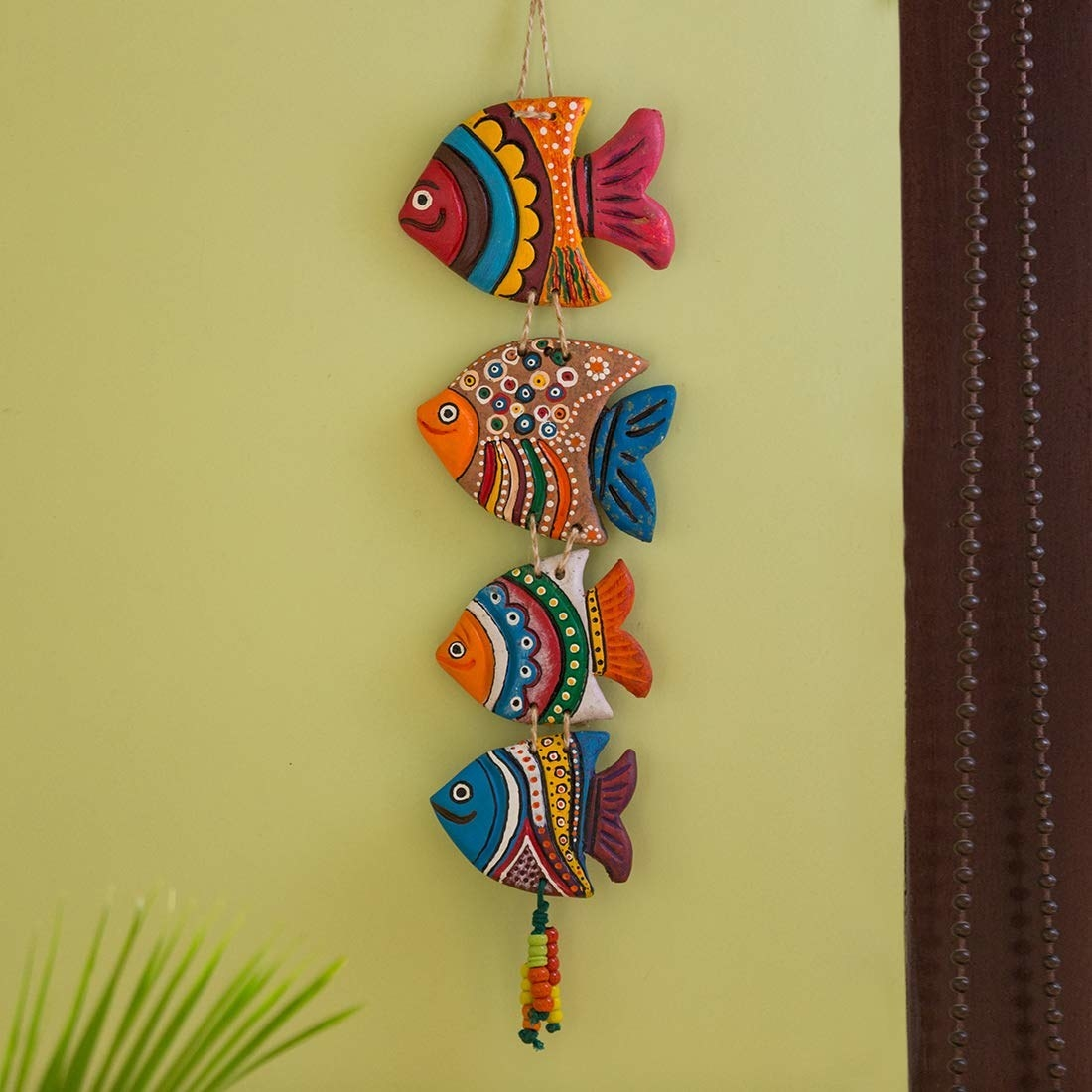 A fish wall hanging