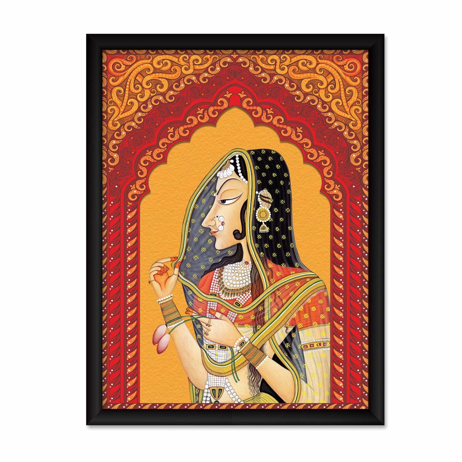 A Rajasthani painting