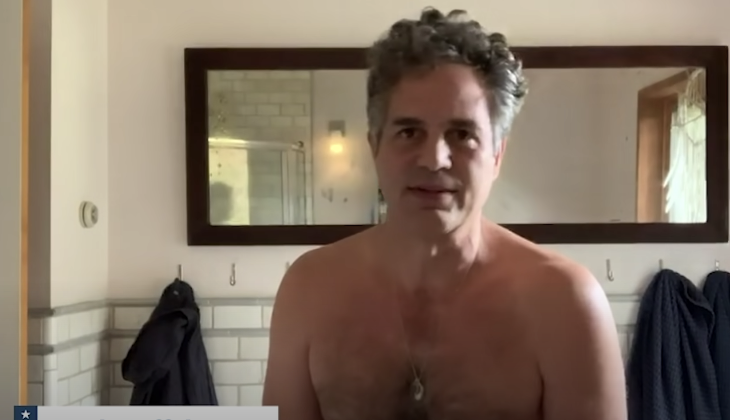 Mark Ruffalo telling us to send our ballots in early