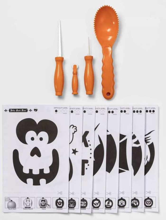 Pumpking carving kit