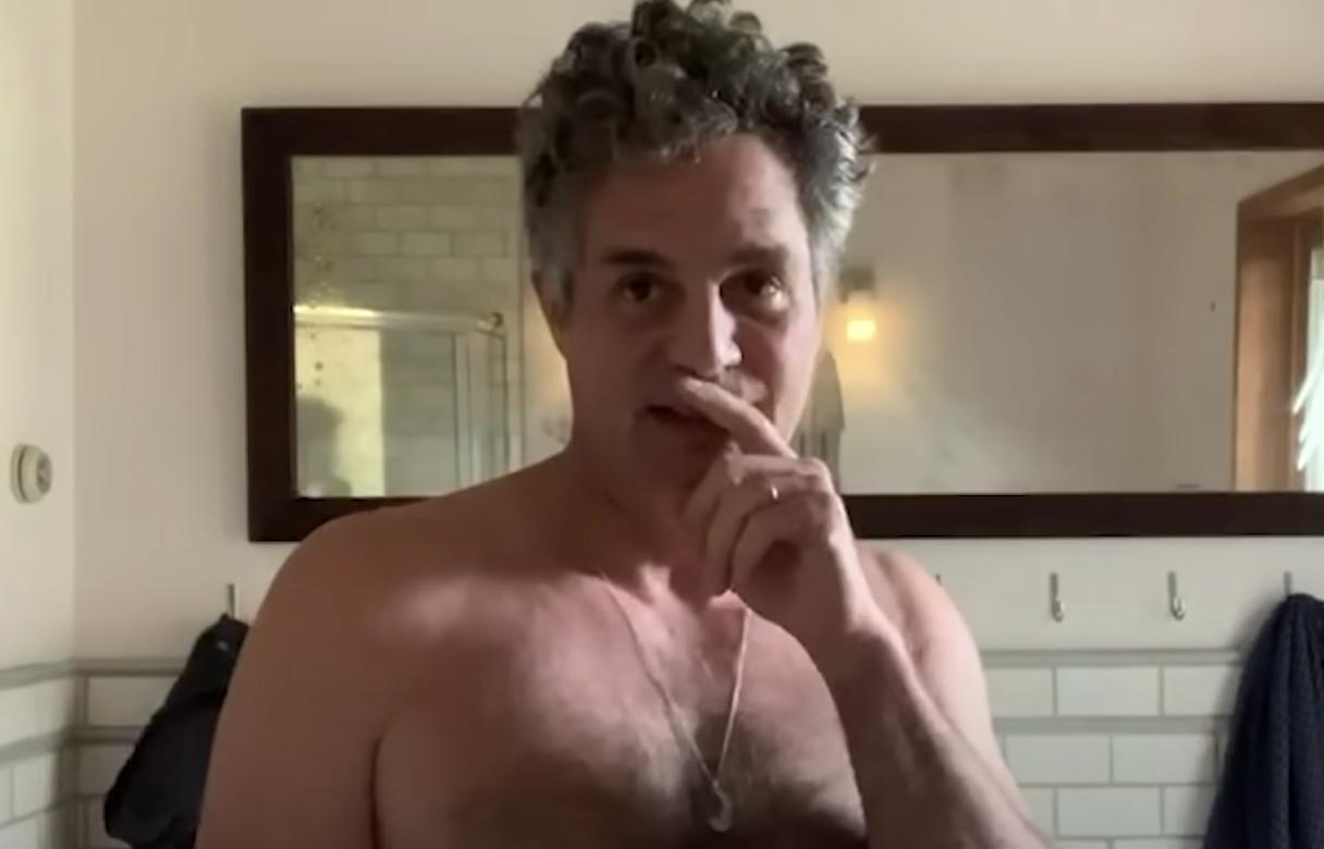 Mark Ruffalo telling us to vote