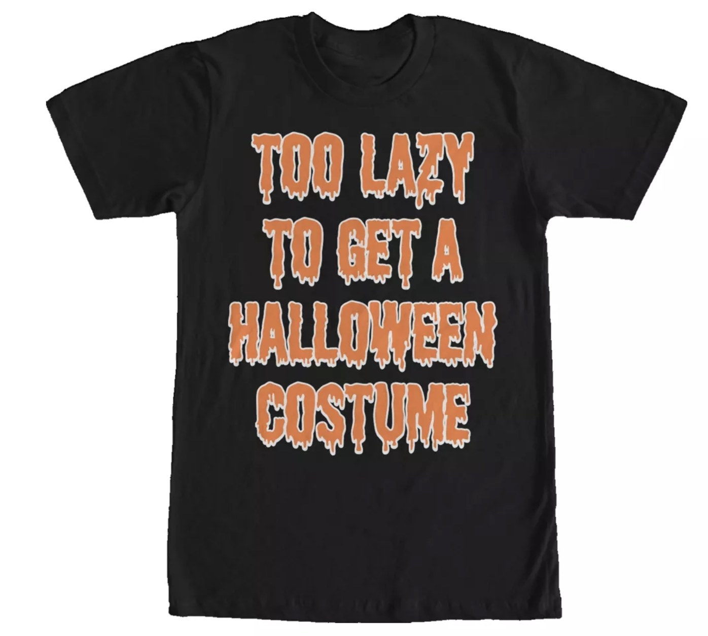Too Lazy To Get A Halloween Costume graphic tee