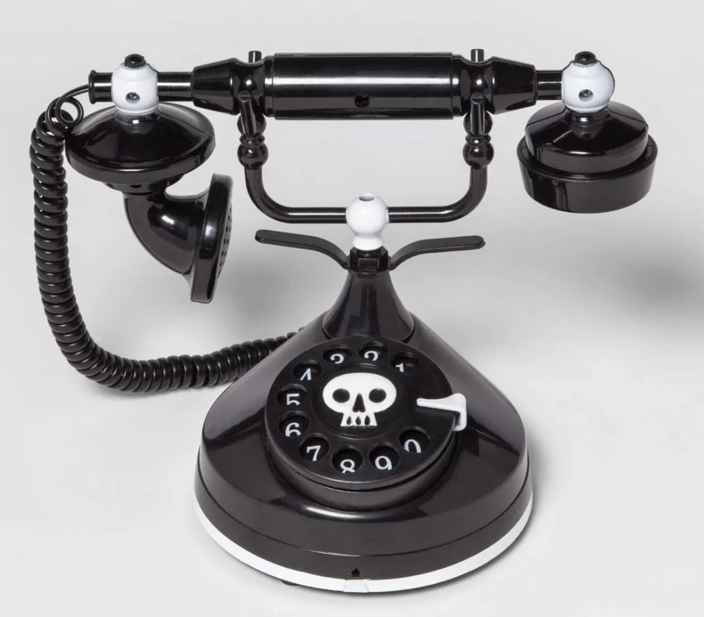 Animated victorian decorative phone