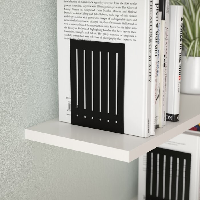 The black bookends