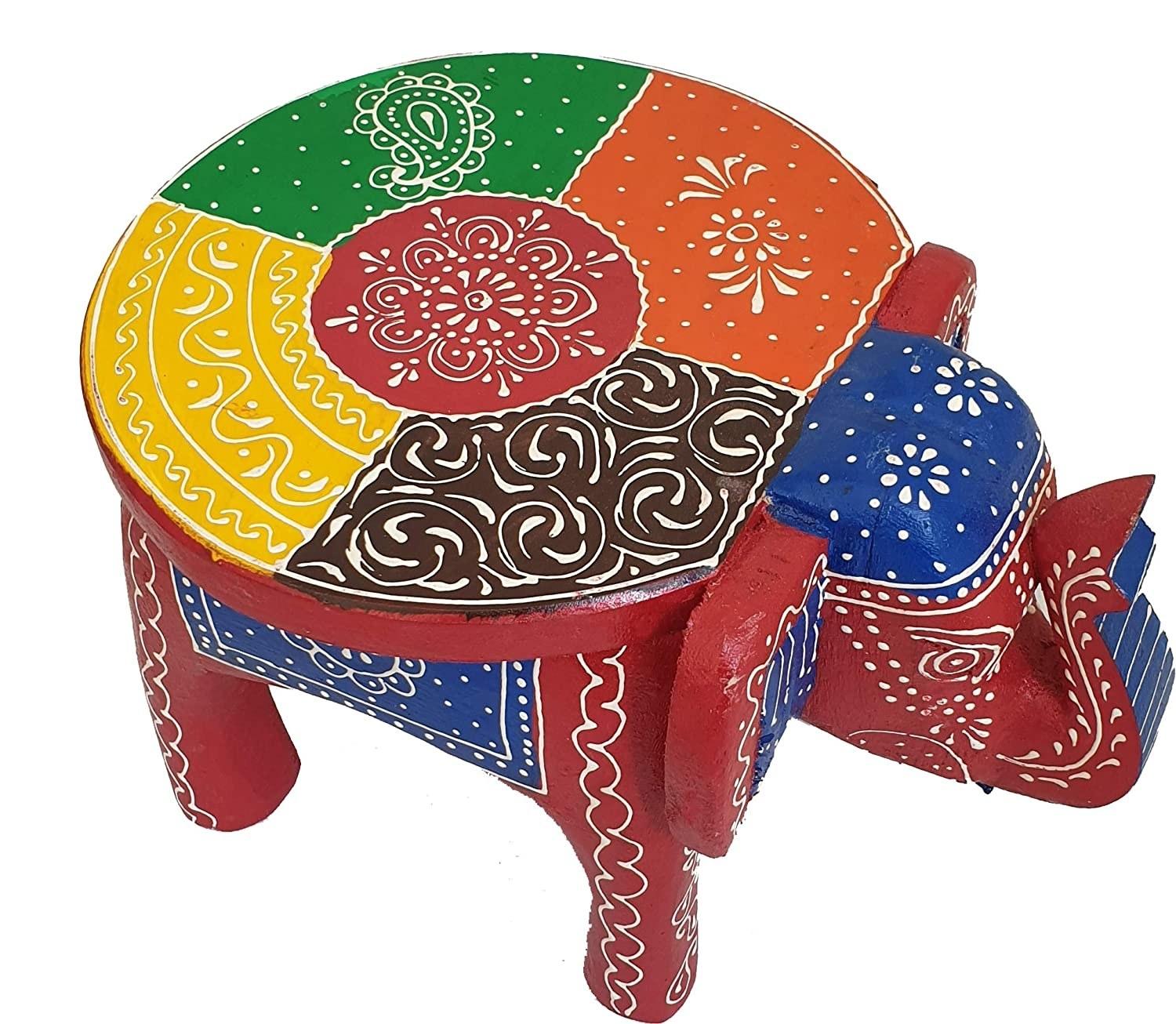 An elephant side table