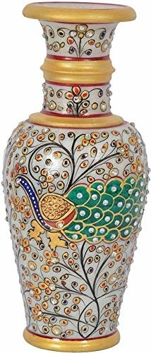 A painted vase