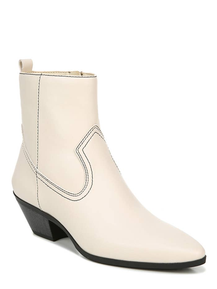 White western booties