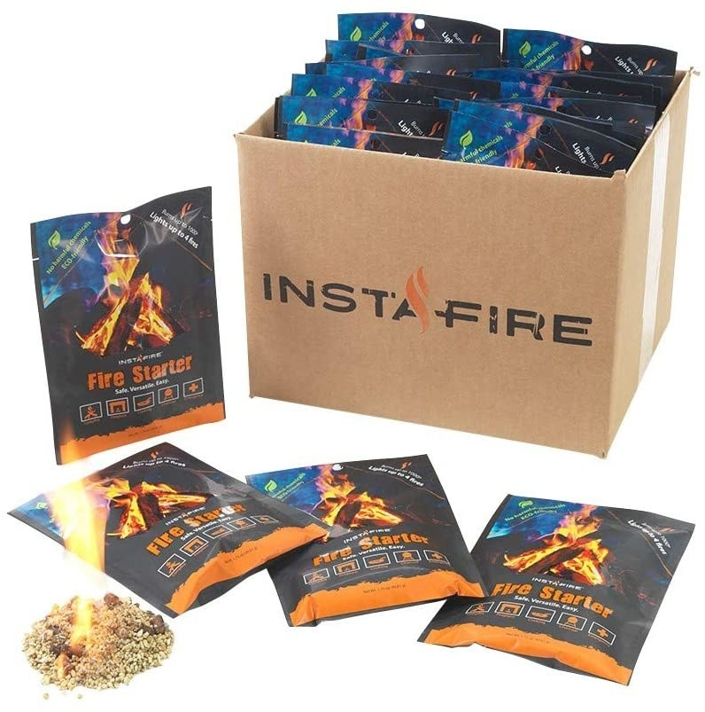 the packs of fire starters