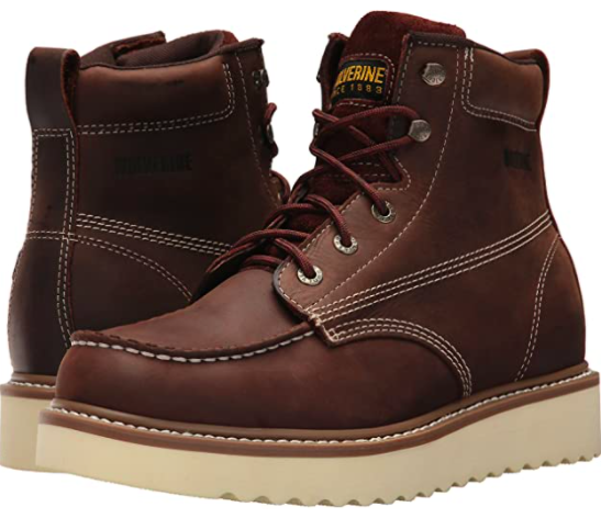 Wolverine soft-toe work boots