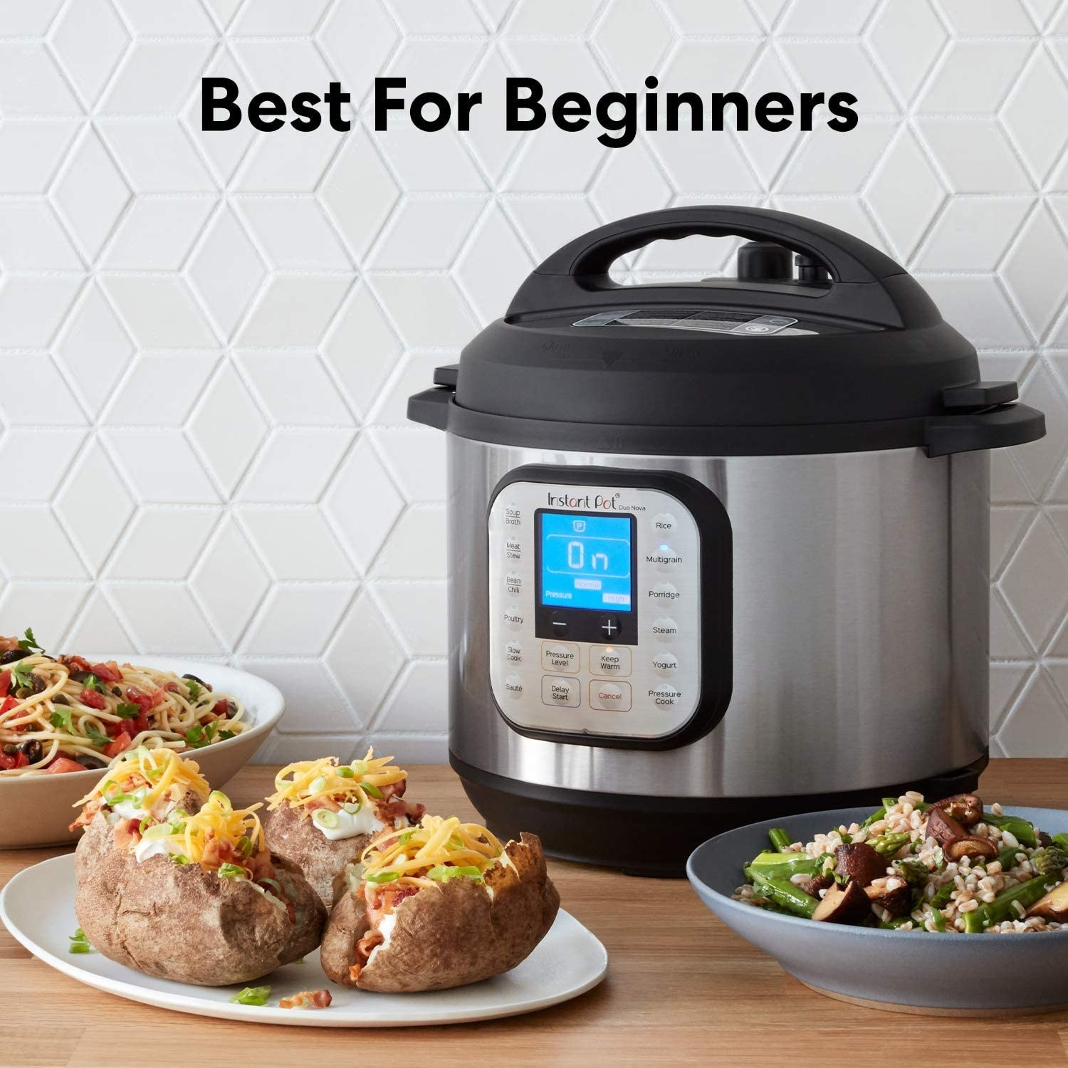 The Instant Pot Duo Nova that can make risotto, baked potatoes, and pasta