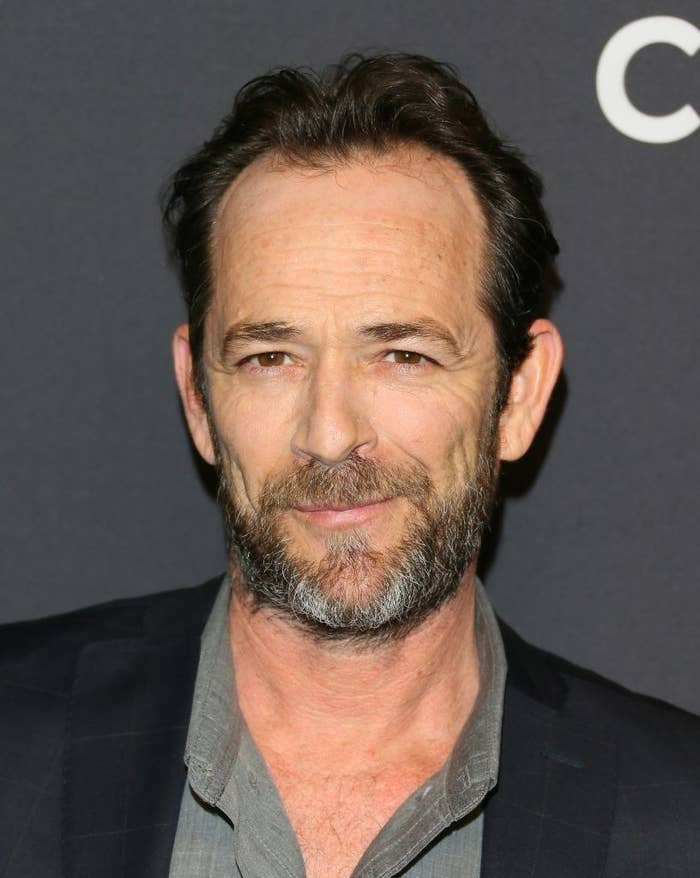 Luke Perry attends The Paley Center For Media's 35th Annual PaleyFest Los Angeles
