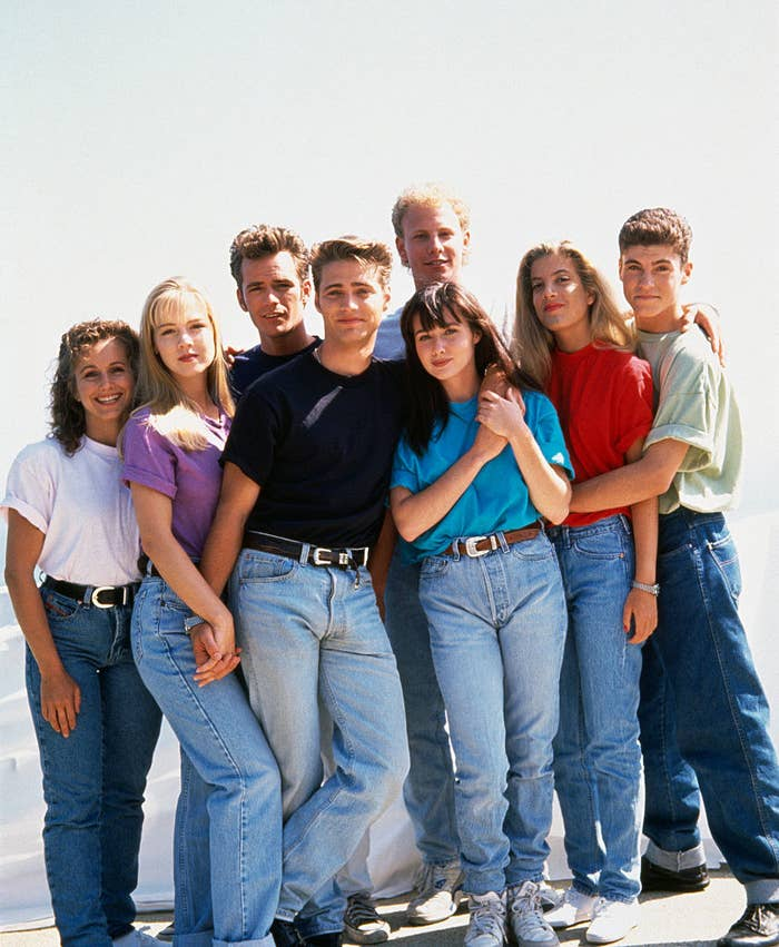 """Cast of """"Beverly Hills, 90210"""""""