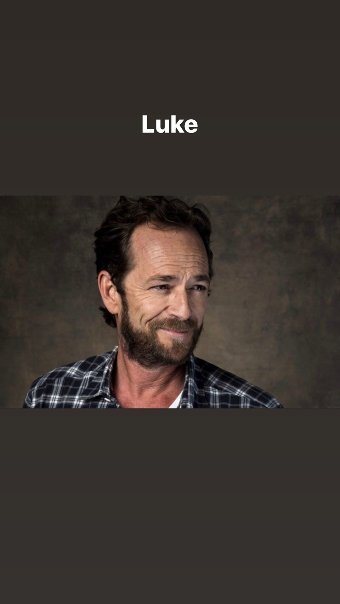 Shannon Doherty post a photo of Luke Perry