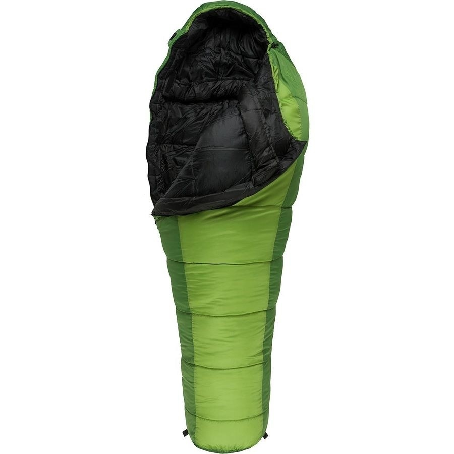 the mummy-style sleeping bag