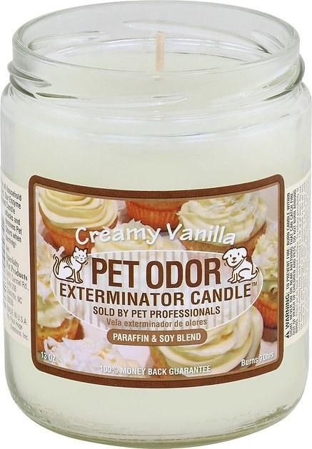 Creamy Vanilla Pet Odor candle