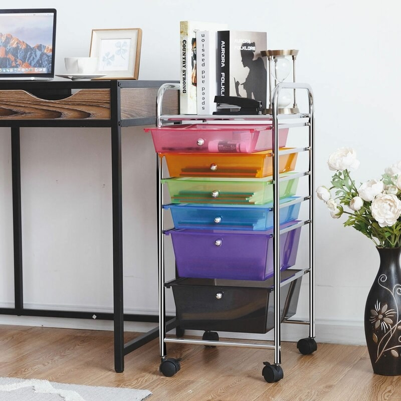 The multicolor drawer set