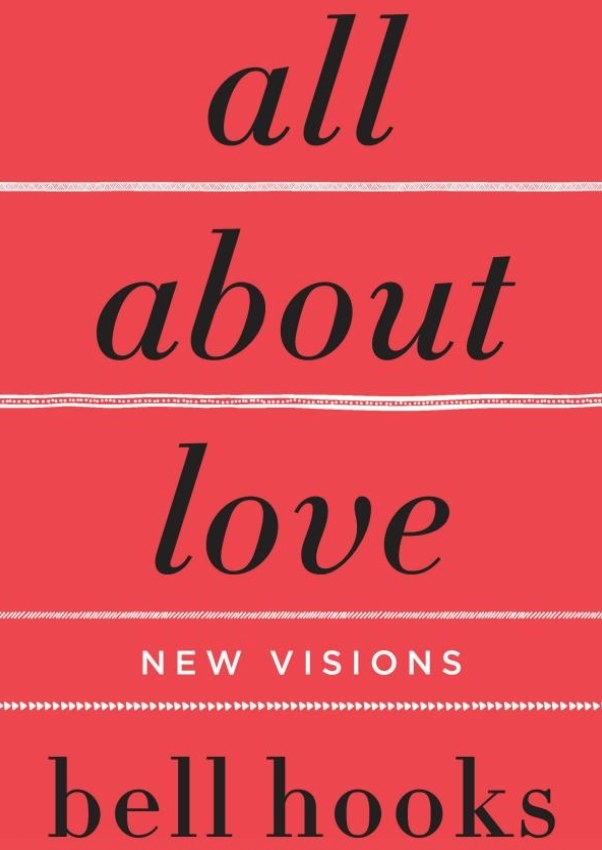 """The book cover of """"All About Love""""."""