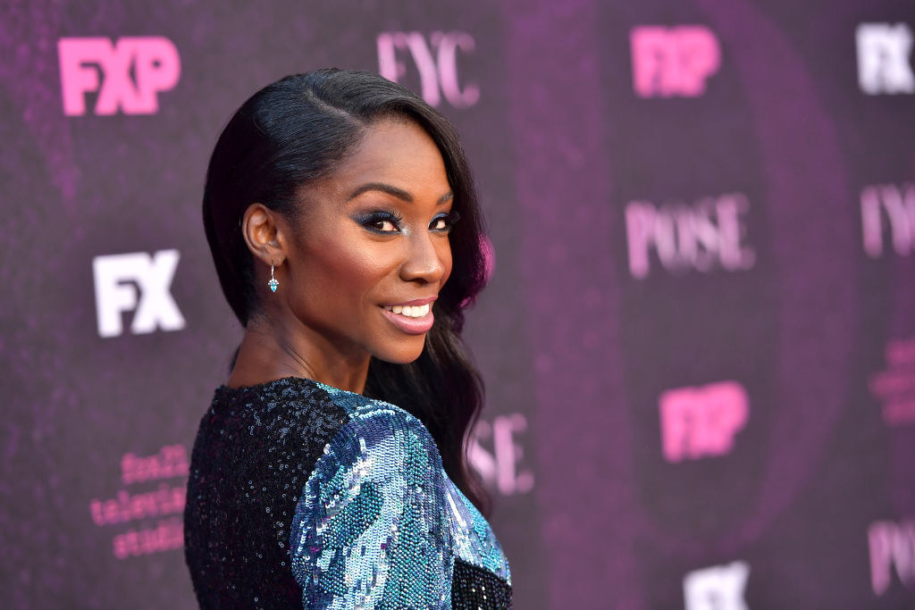 """Angelica Ross attends the red carpet event for FX's """"Pose"""""""