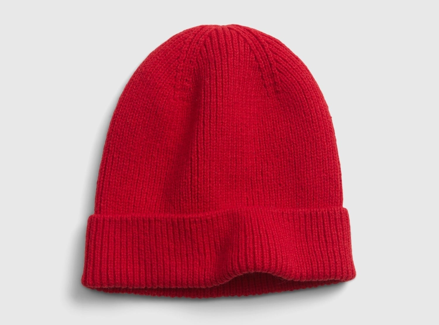 The beanie in red
