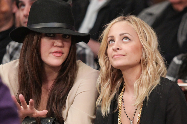 """Khloé Kardashian Reminded The World She Used To Be Nicole Richie's Assistant — """"Five Faces Ago"""""""