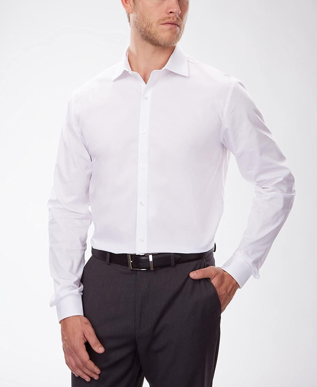 Model in the white shirt