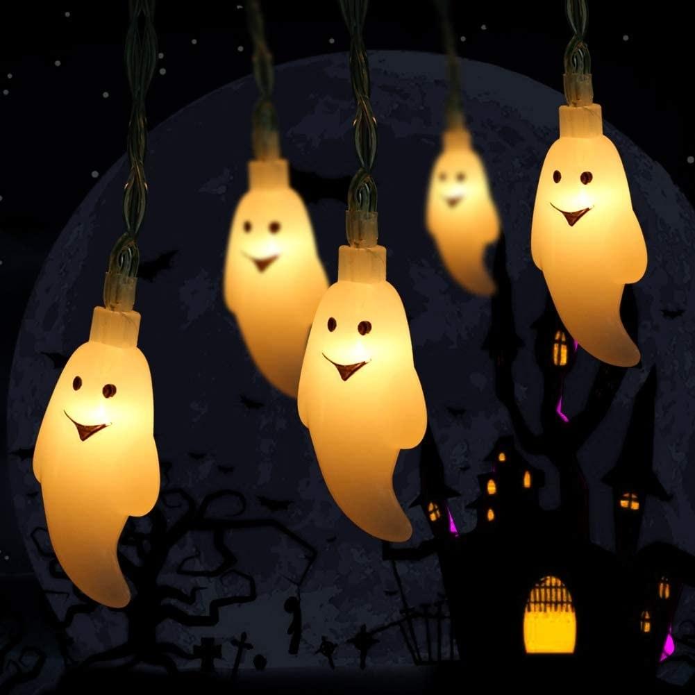 Ghost shaped light garland