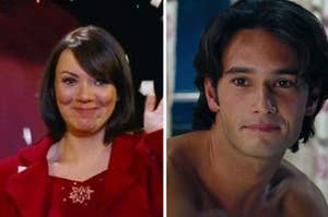 Natalie and Karl from Love Actually