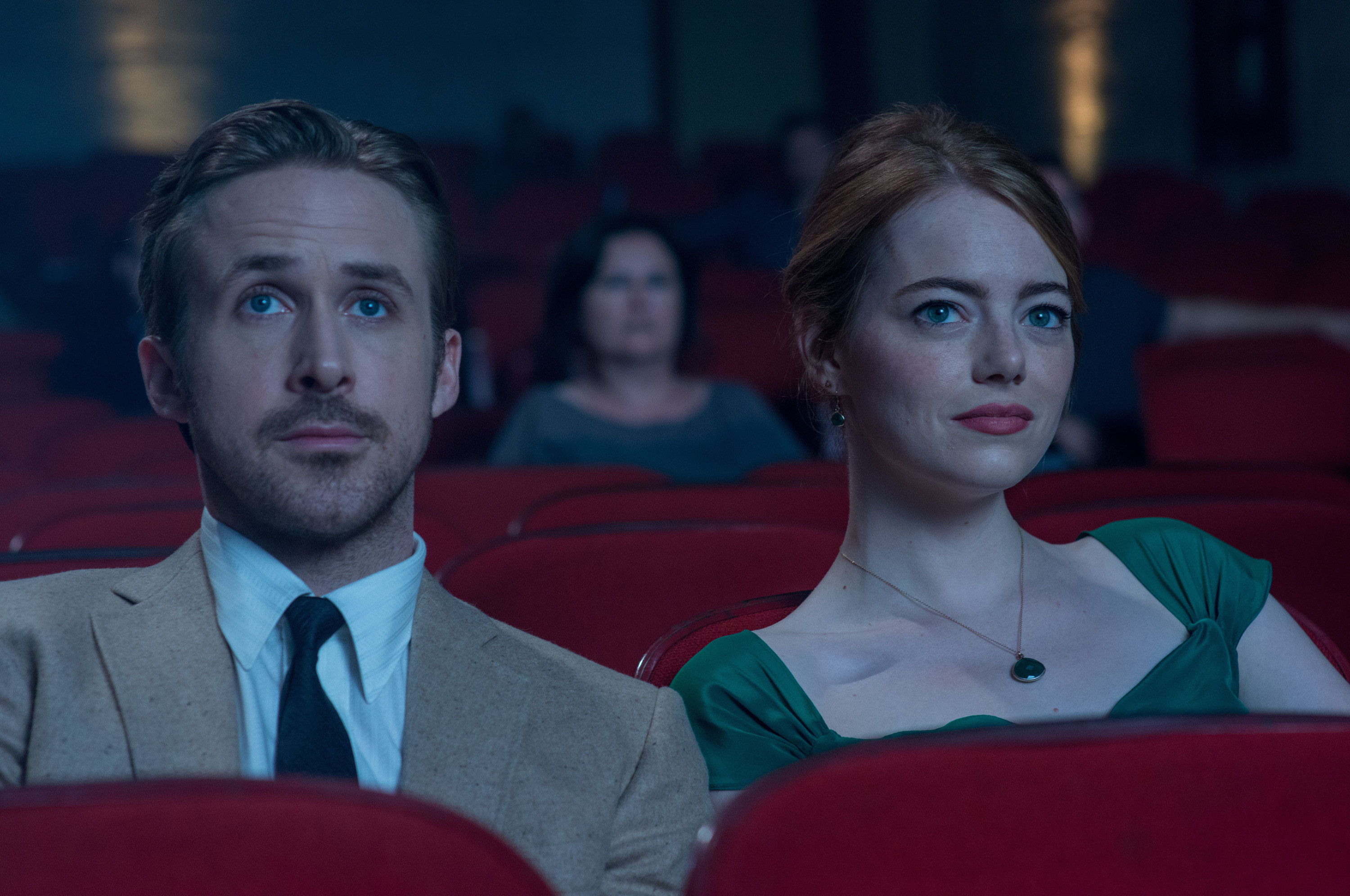 LA LA LAND, From left: Ryan Gosling, Emma Stone