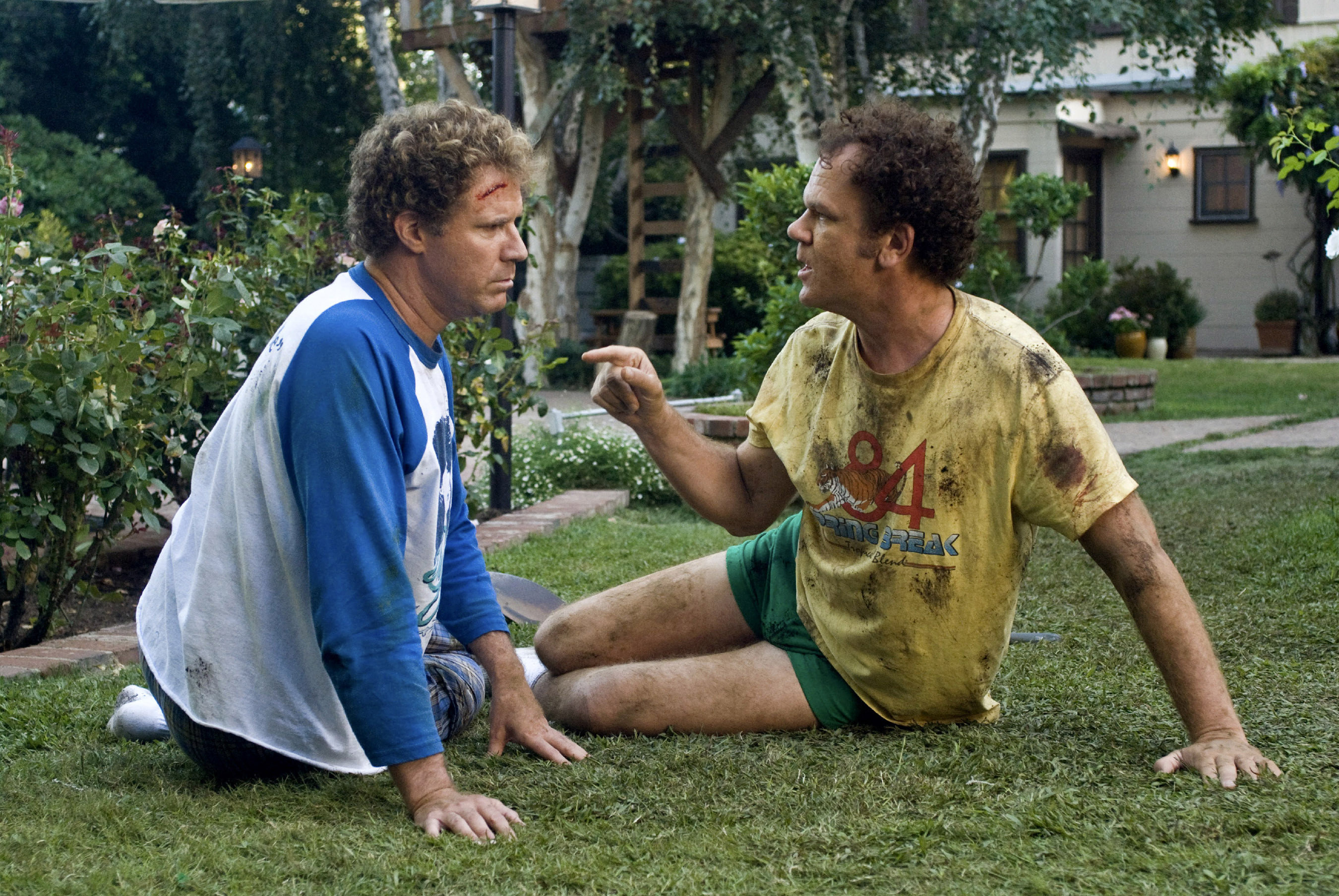 STEP BROTHERS, from left: Will Ferrell, John C. Reilly