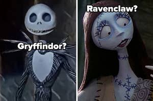 Gryffindor and Ravenclaw? on jack and sally