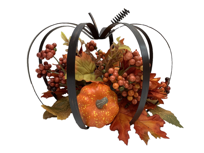 The harvest pumpkin decoration