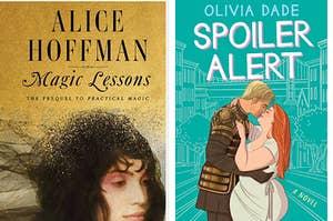Magic Lessons book cover / Shuggie Bain book cover