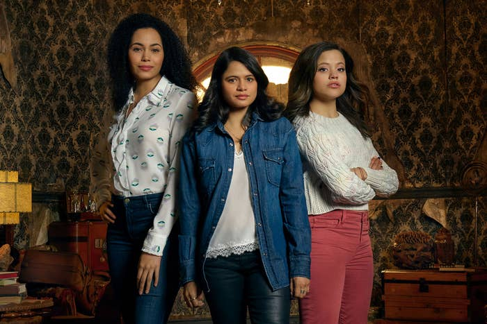 The new Charmed sisters standing together