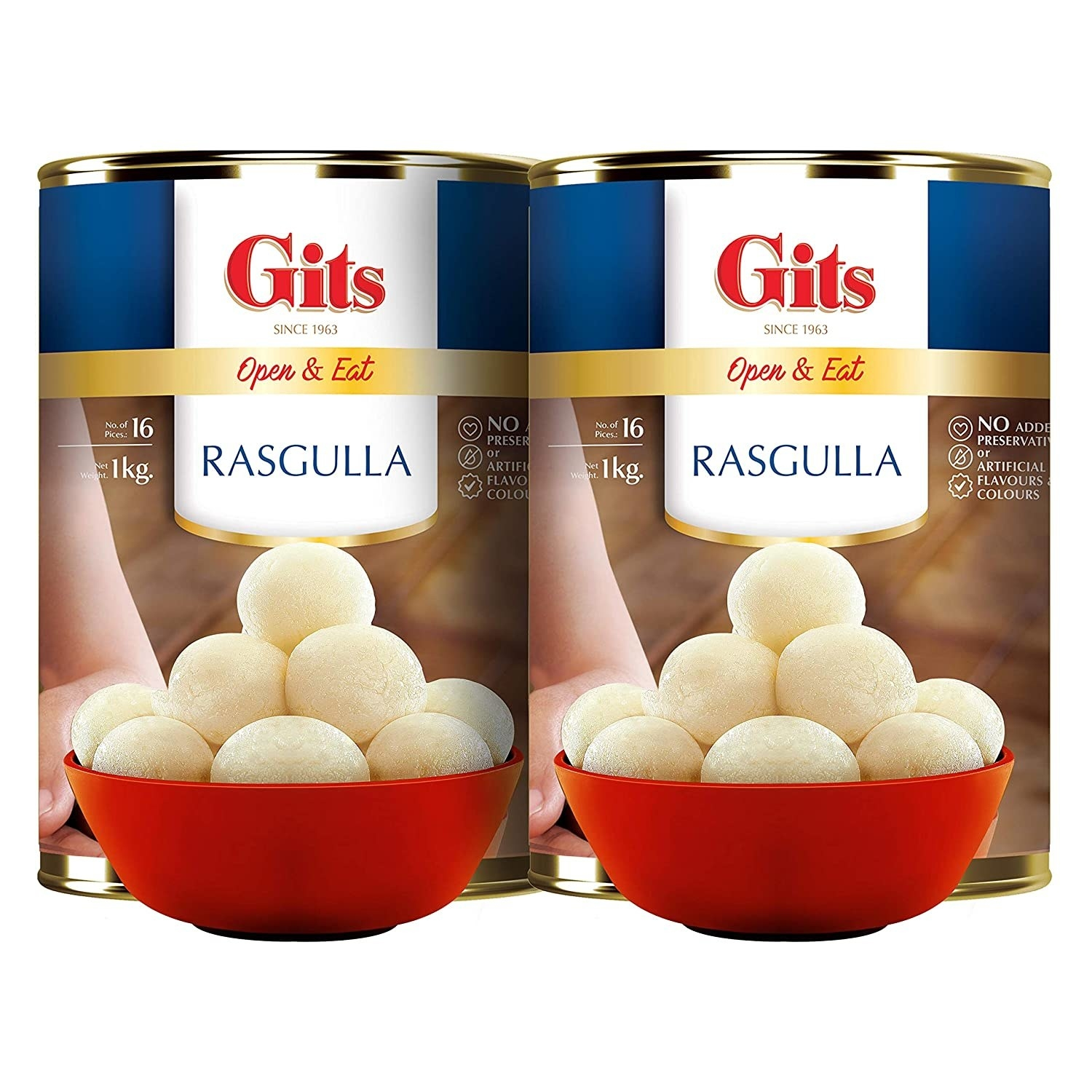 A pack of rasgullas